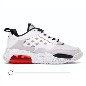Nike Jordan Air Max 200 White Challenge Red Black